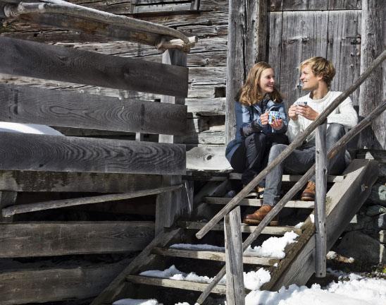 Entspannen im Winter in Saalbach Hinterglemm - Pension Lederergütl